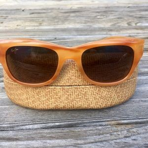 Maui Jim Kahoma Honey Tortoise